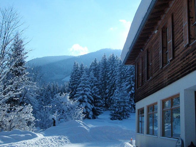 Wintererlebnis im Naturfreundehaus Wimmergreuth