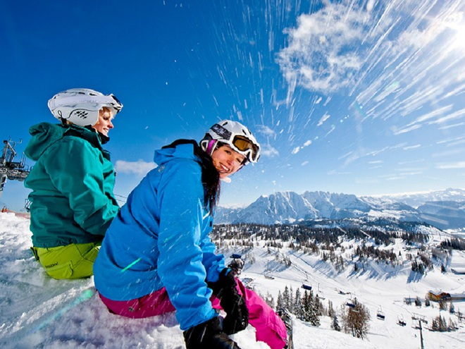 Skifahren im Ausseerland (© Tom Lamm | ikarus.cc)