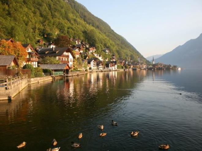 Salzkammergut guided cycling tour Austria
