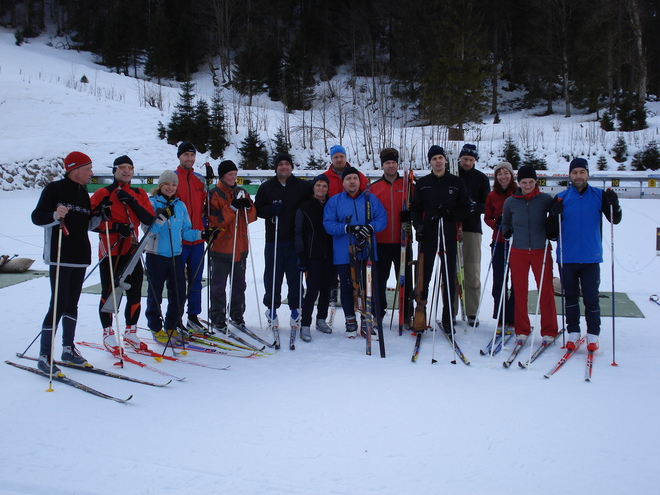 Gruppenbild (© Biathlonzentrum Innerrosenau)