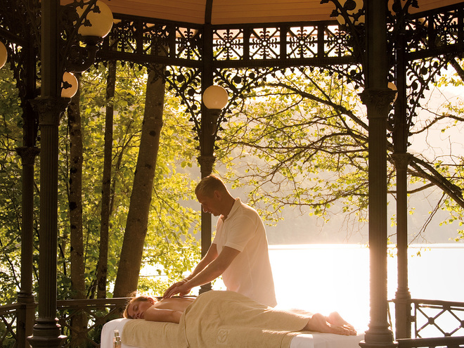 Massage Schloss Fuschl (© ©www.luxurycollection.com/schlossfuschl)