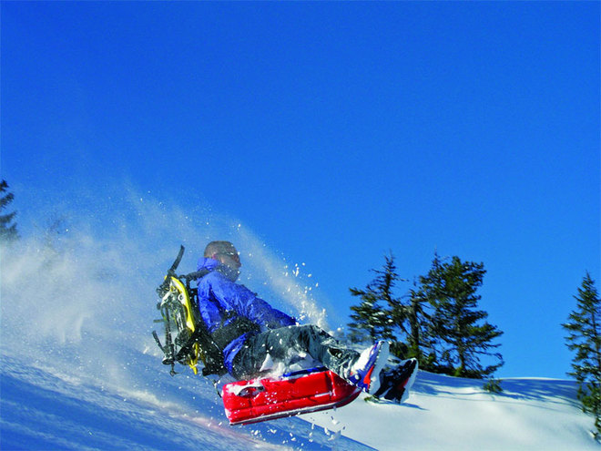 ruckXbob - Downhill nach dem Watscheln mit Abenteuer Management am Kasberg im Almtal