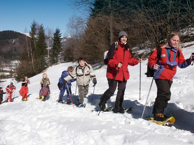 Schneeschuh-Wandererlebnis