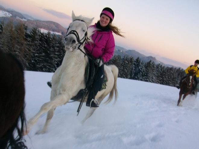 Winterreiten (© Kern)