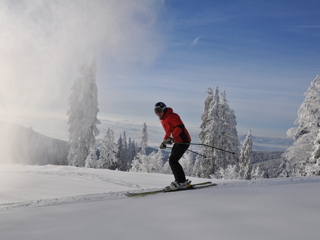 Ski- und Snowboardspaß am Hochficht
