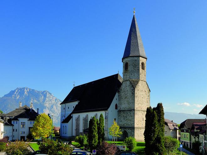 Altmünster im Winter (© MTV Ferienregion Traunsee - Tourismusbüro Altmünster)