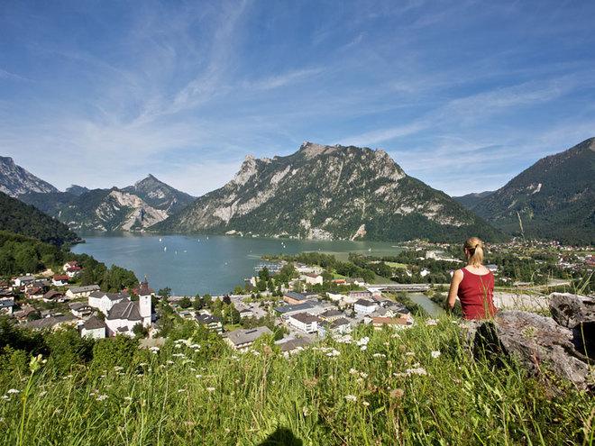 Ebensee im Winter (© MTV Ferienregion Traunsee - Tourismusbüro Ebensee)