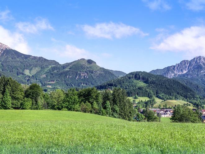 Spital am Pyhrn – das Dorf im Gebirge