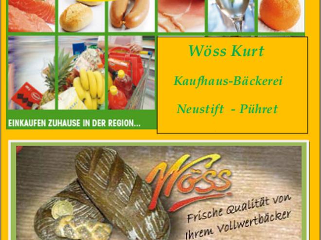 Kaufhaus-Bäckerei-Postamt Wöß