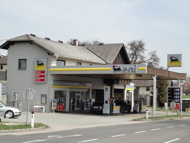 ENI - Tankstelle
