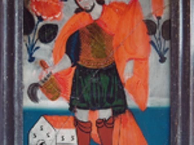 Glass painting - painting studio Pölz Norbert