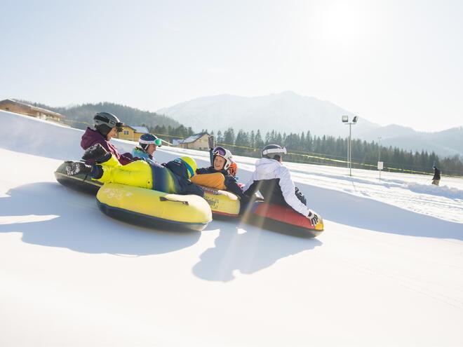 Panoramabild Snowtubing (© Snowtubing Faistenau)