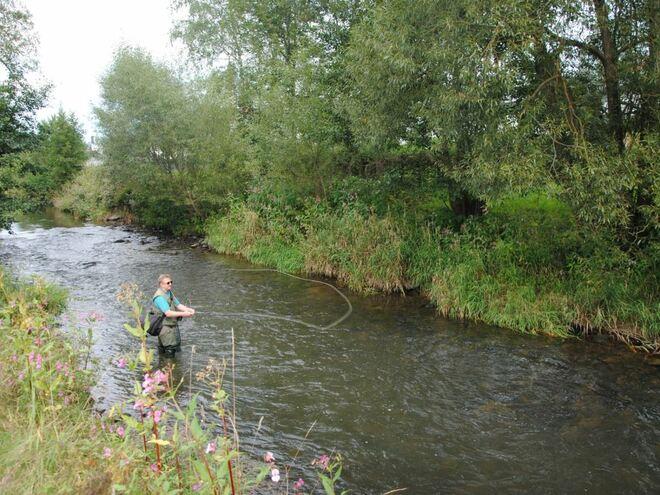 Fischwasser Ranna und Rannastausee