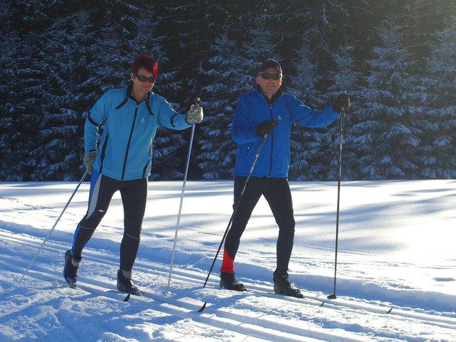 Langlauf-Loipen in Gutau