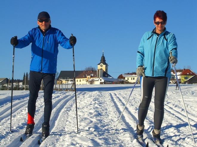 Loipennetz Sandl