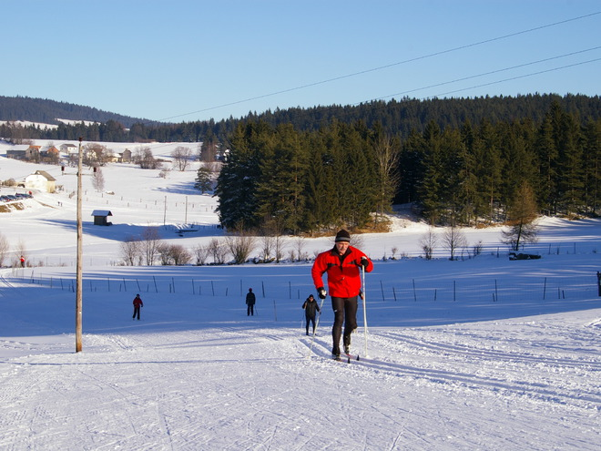 Langlauf-Loipen in Grünbach