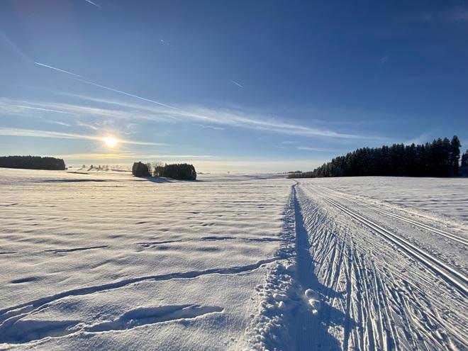 Langlauf-Loipen in Rainbach