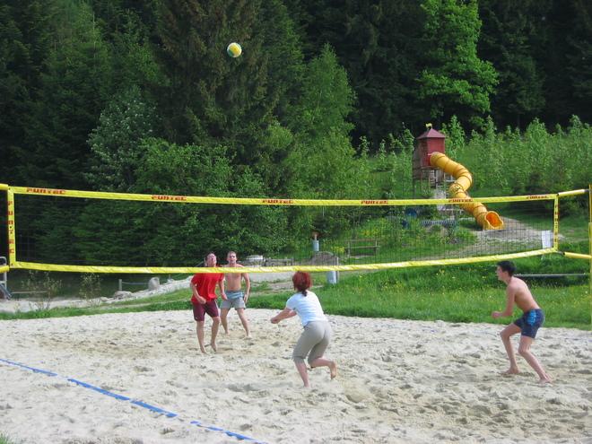 Beach-Volleyballplätze