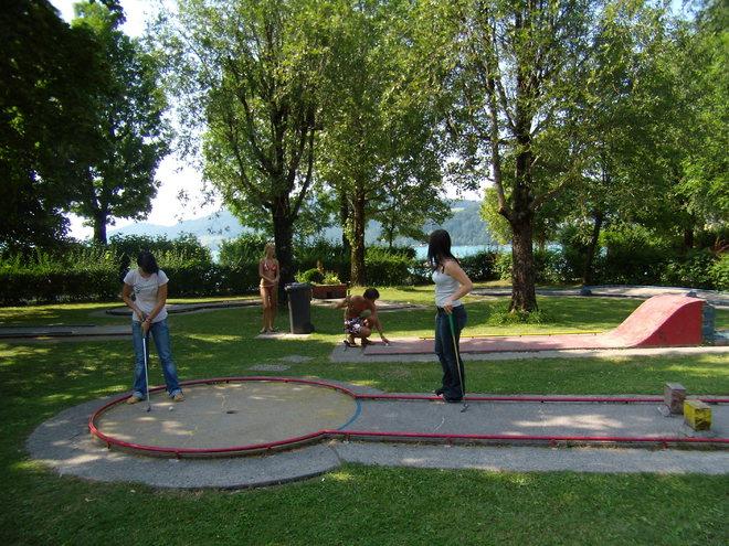 Minigolfplatz im Fuschlseebad Fuschl am See