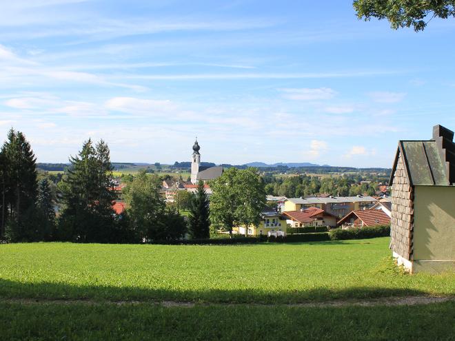 Pfarrkirche St. Georg mit Guggenbichler-Kanzel