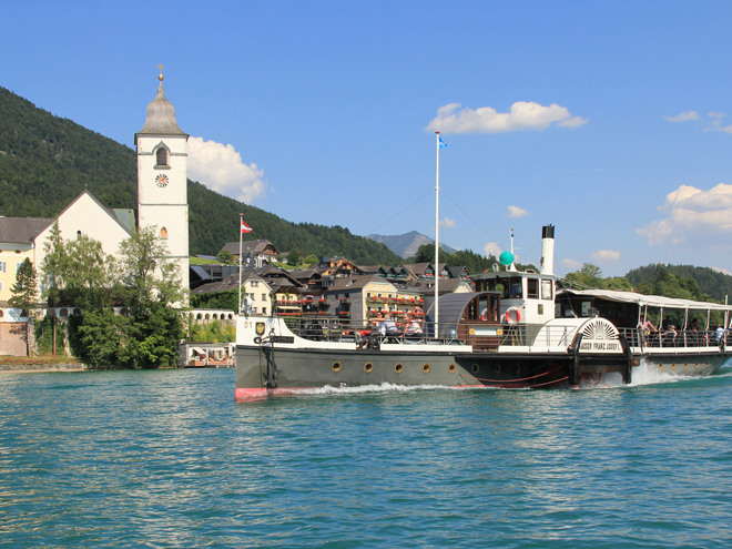 Wolfgangsee Boats