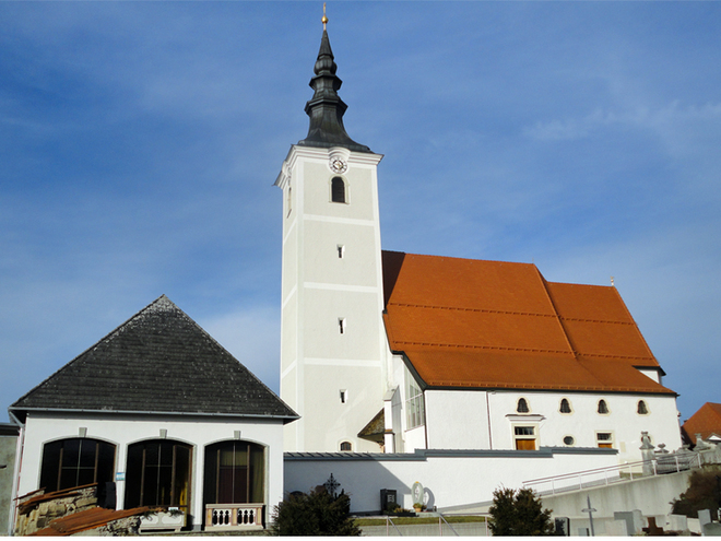 Parish church of St. Jakob