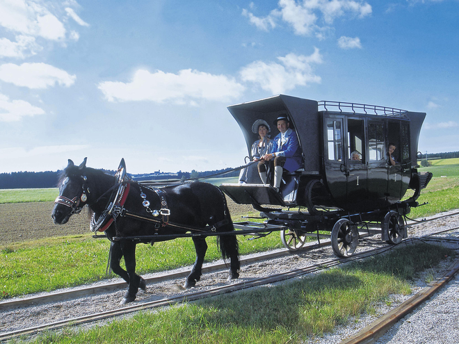 Horse-Drawn Railroad