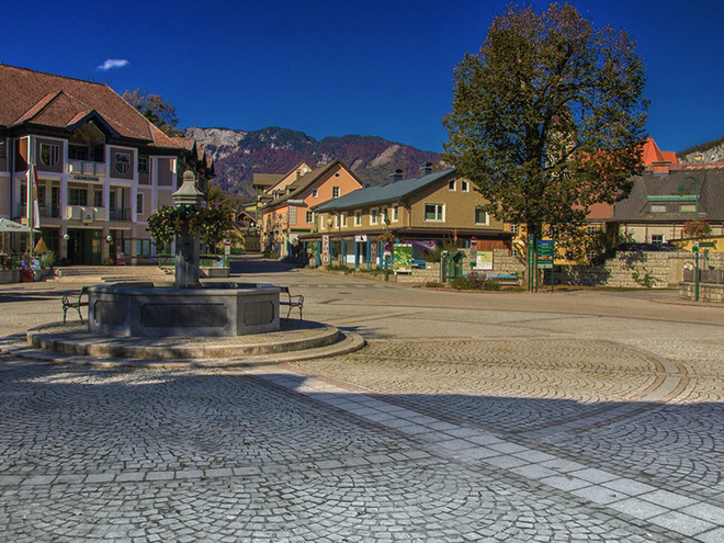 Marktplatz in Bad Goisern