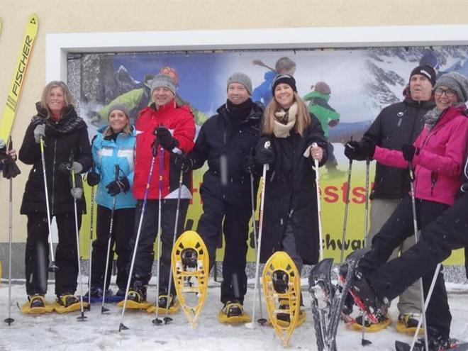 Schneeschuhverleih - Sportartikel Hauer