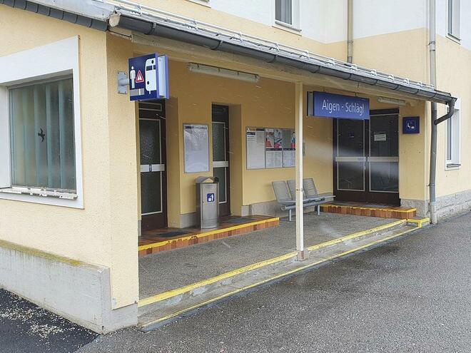Bahnhof Aigen im Mühlkreis
