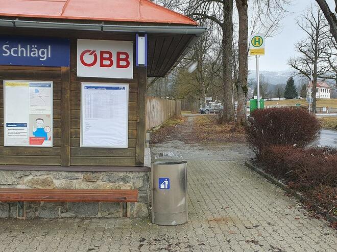 Bahnhof Schlägl im Mühlkreis