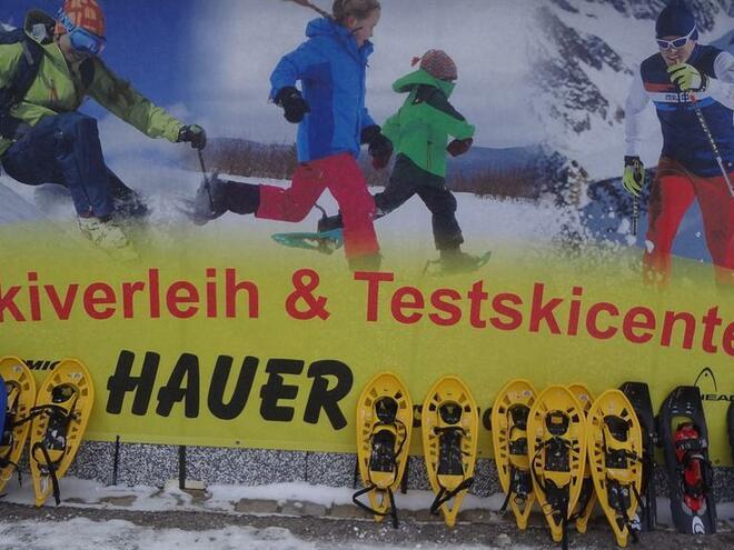 Schiverleih & -service Hauer