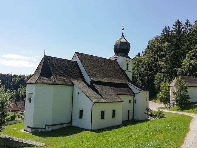 Wallfahrtskirche St. Wolfgang am Stein