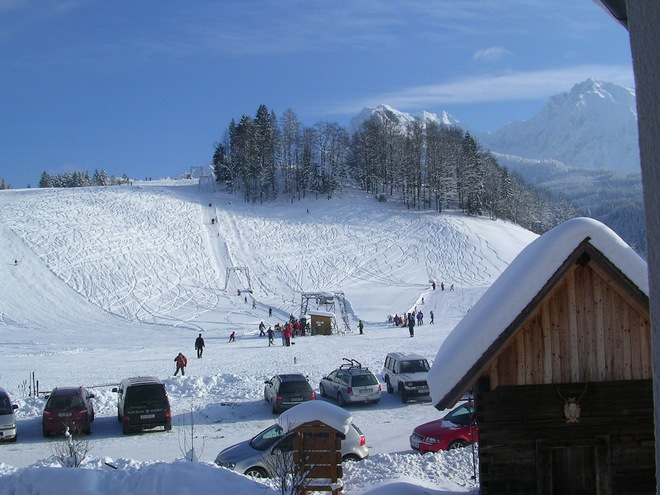 Skilift Hotz in Oberweng