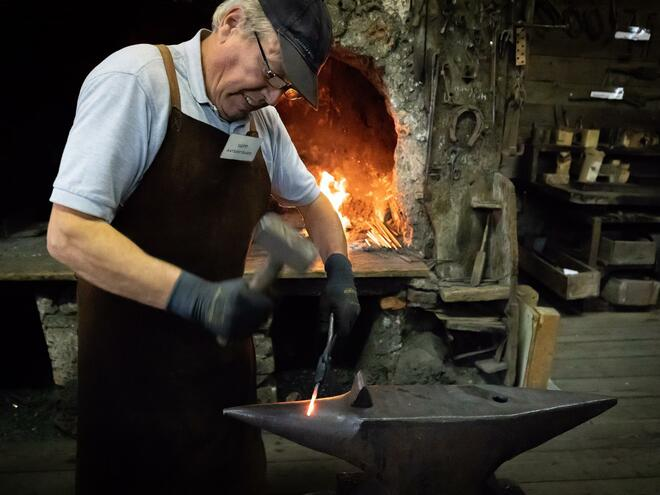 Blacksmith Workshop - Lindermayr