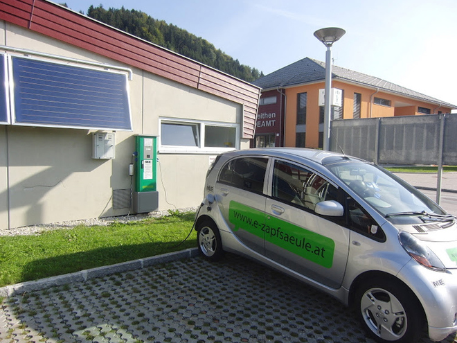 Charging station Roßleithen