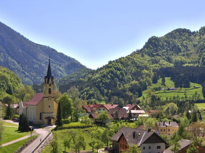 Pfarrkirche Steyrling - 'Unbefleckte Empfängnis Mariä'