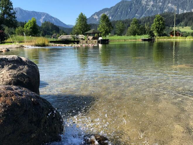 Naturbadesee am Golfplatz Edlbach