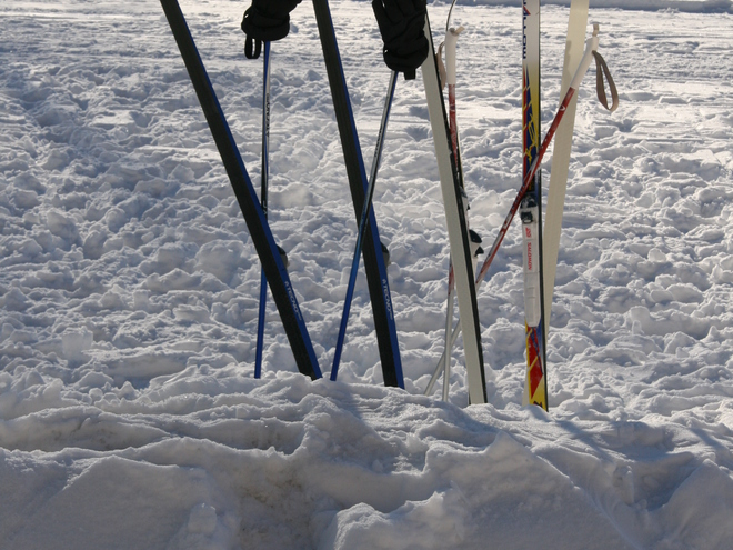Cross-country skiing, snowshoe and sled rentals