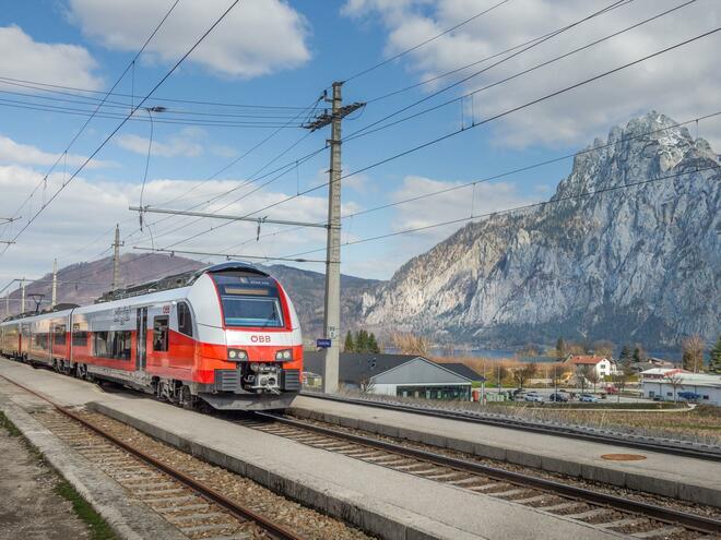 Bahnhof Traunkirchen - ÖBB Strecke 170 'Salzkammergutbahn'