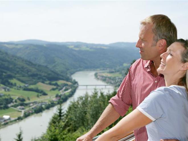 Panoramablick Pühretstein