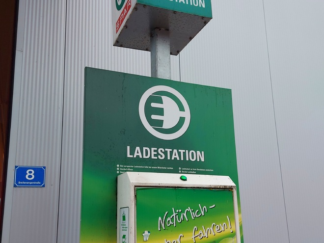 E-Bike Ladestation EUROSPAR Grein