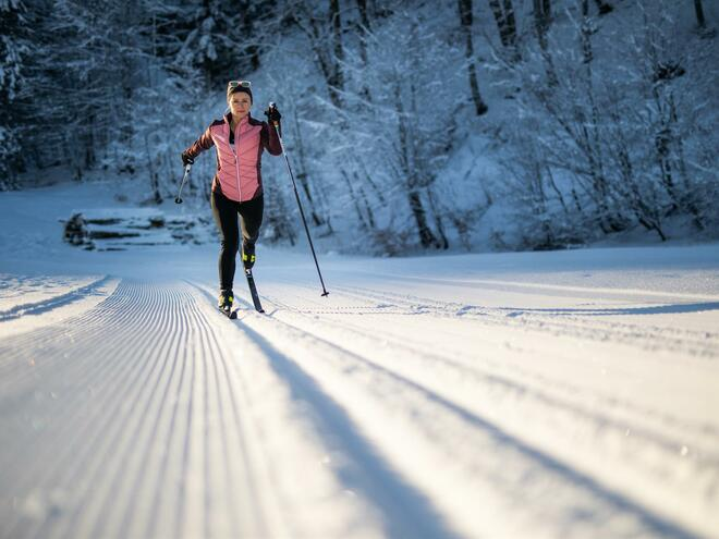 Cross country ski school Nordic Fun