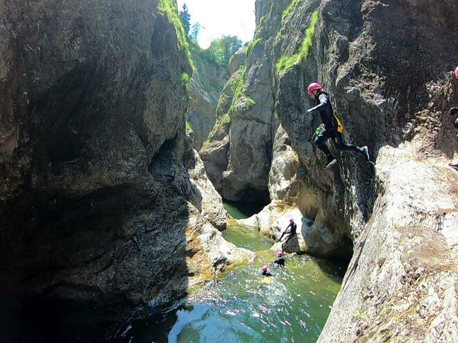 Canyoning in Faistenau