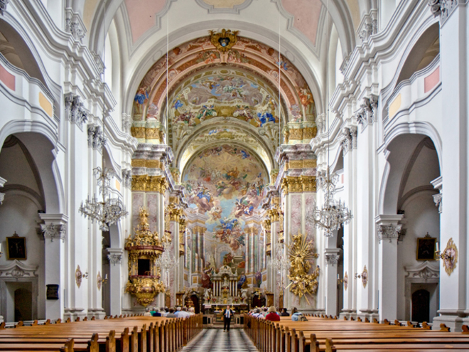 Guided Church Tour of the 'Pyhrn Cathedral'