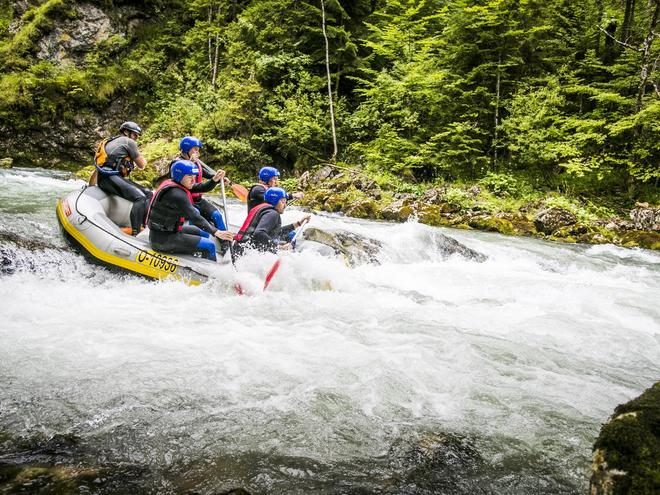 Wildwasser-Rafting SALZA PRO-ADVENTURES