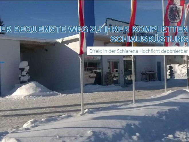 Schiverleih & -service Lemberger in Ulrichsberg