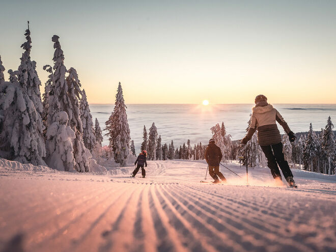 Bohemian Forest ski area Hochficht – the ease of skiing