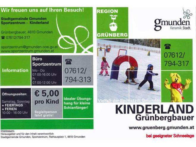 Kinderland Grünbergbauer Gmunden
