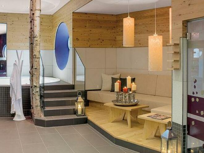 Wellnessbereich Hotel INNs Holz